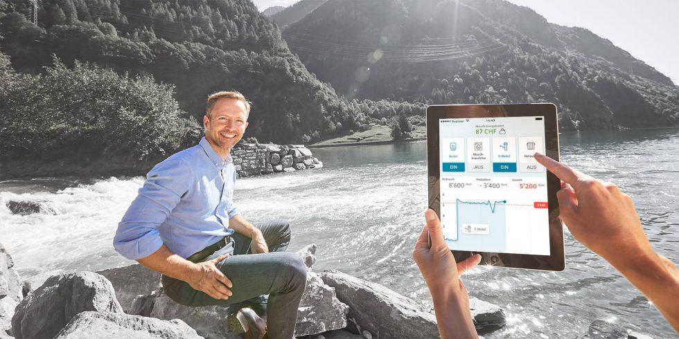 SMARTPOWER liefert den Endkunden in Echtzeit Transparenz über ihren Energieverbrauch.